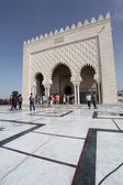 Mausoleum of Mohammed V — Stock Photo