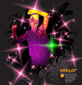 Music illustration — Stock Vector