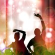 Stock Photo: Discotheque poster