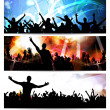 Music banners set — Stock Photo #41912761
