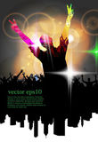 Discoteque poster — Stock Vector