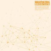 Molecule Background — Stock Vector