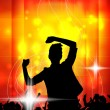 Stock Vector: Discotheque poster