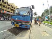 Stadsbuss — Stockfoto