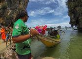 пханг нга национальный парк, таиланд — Стоковое фото