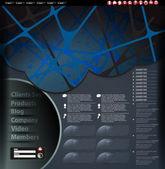 Diseño de plantillas de sitio web — Vector de stock