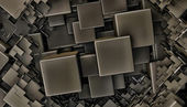 Abstract cubes background — Stock Photo