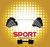 Sport illustartion — Stock Vector