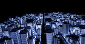 3d city — Stock Photo