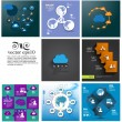 Cloud Computing concept set — Stock Vector #45272367