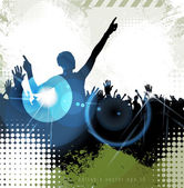 Music party — Stock Vector