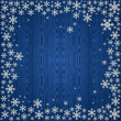 Christmas snowflakes background - Stock Vector