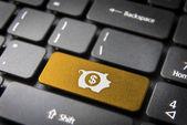 Tjäna pengar online-verksamhet bakgrund — Stockfoto