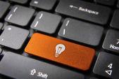 İnternet iş fikirleri kavramı arka plan — Stok fotoğraf
