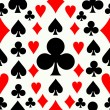 Seamless poker pattern background — Imagen vectorial