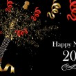 Royalty-Free Stock Vector Image: Happy New Year 2013 banner