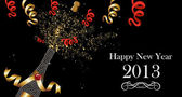 Happy New Year 2013 banner — Stock Vector