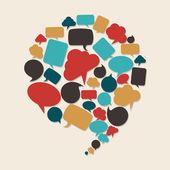 Sosyal pazarlama kampanyası — Stok Vektör