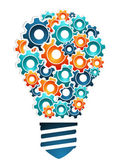 Industrial innovation concept — Stock Vector