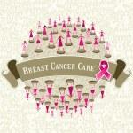Global breast cancer awareness — Stock Vector