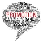 Marketing promotion speech bubble — Stock Vector