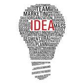 Marketing campaign idea — Stock Vector