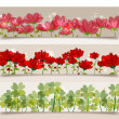Spring transparency banners — Stock Vector #20590837