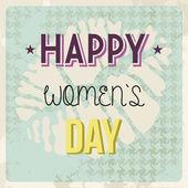 Retro Happy mother Day — Stock Vector