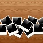 Old Polaroid photo pattern — Stock Vector #22937800