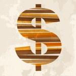 symbole Vintage argent multicolore — Vecteur #27642011