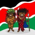 Welcome to Kenya — Stock Vector