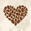 Stock Vector: Coffee love concept