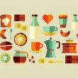 Coffee Shop icons — Stock Vector