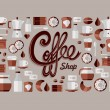 Coffee Shop icons — Stock Vector #27643025