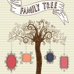 Vintage frames tree — Stock Vector #27643821