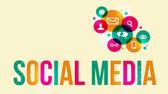 Media społeczne tło — Wektor stockowy