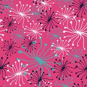 Dandelion pattern — Stock Vector
