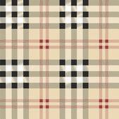 Scottish fabric illustration — Stock Vector