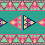 Unusual geometric seamless pattern. — Stock Vector