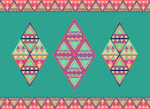 Ovanliga geometriska seamless mönster. — Stockvektor
