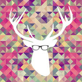 Retro hipsters elements. — Stock Vector