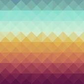 Vintage hipsters geometrische patroon. — Stockvector