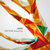 Colorful geometric transparency. — Vettoriale Stock