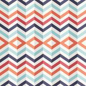 Ongebruikelijke vintage 3d effect abstracte geometrische patroon. — Stockvector