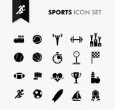 Fresh Sports icon set. — Stock Vector