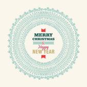 Joyeux Noël et bonne année fond — Vecteur
