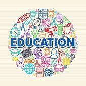 Education concept illustration — Stock Vector