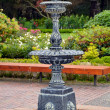 Old garden fountain — Stock Photo