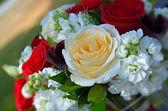 Svatební růže kytice — Stock fotografie