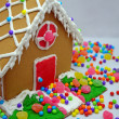 Stockfoto: Little gingerbread house